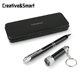 Promotional business luxury metal pen set gift box Parker jotter personalised ball pens with LED light
