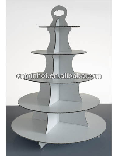 Round 5 Tier Disposable Cupcake Stand