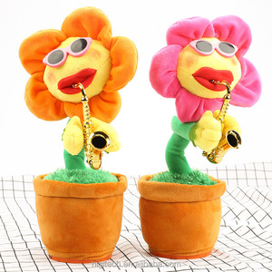 bluetooth dancing flowers and snake bluetooth Singing and Dancing Sunflower