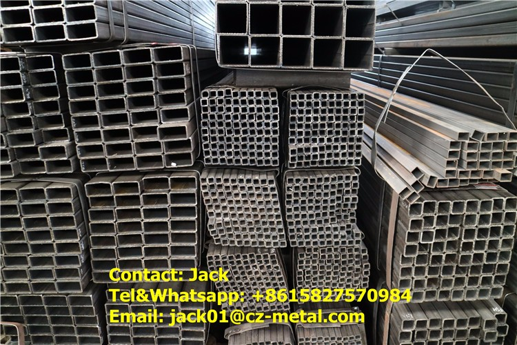 80x80 steel square tube carbon steel seamless tube st37.4 galvanized steel
