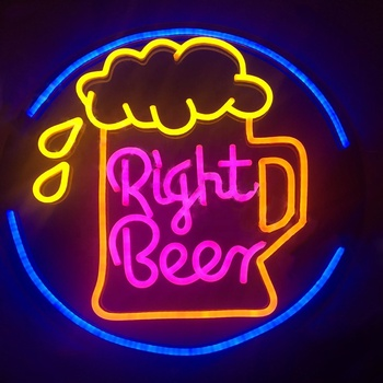 China factory custom made Neon Signs Acrylic Luminous Neon Signs Led Signature Neon Light