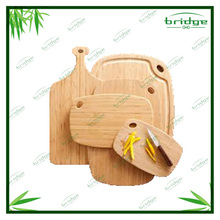 healthy and natural bamboo chopping cutting board or wooden kitchenware
