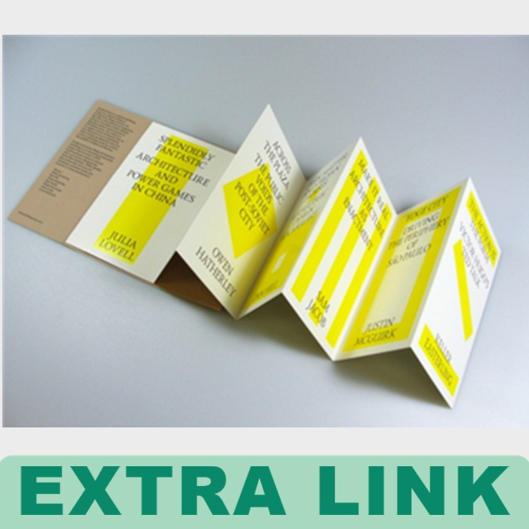 Cheap Price Brochure Customized Printing Disposable Paper Flyer Printing