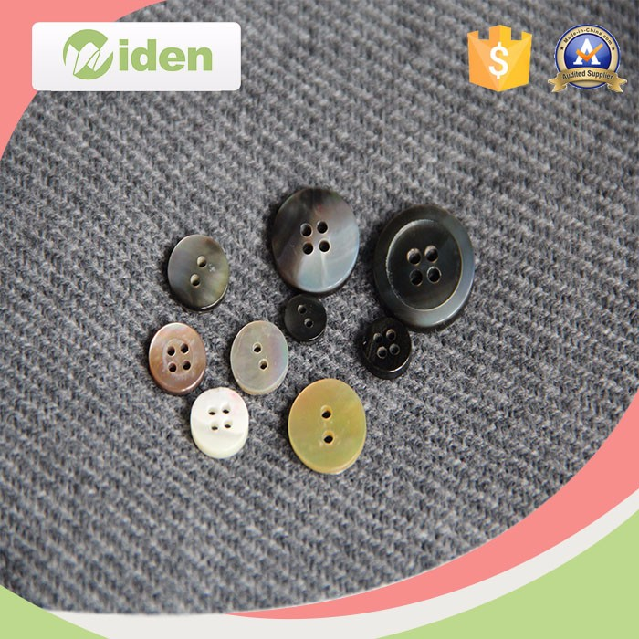 Custom Nature Agoya Shell Button with Logo for clothing