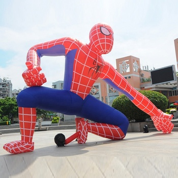 5mH Inflatable Outdoor Advertising Spiderman Inflatable Super Hero Cartoon