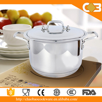 Chaozhou City Chaoan Stainless Steel Soup Pot/Stock Pot For Cookware