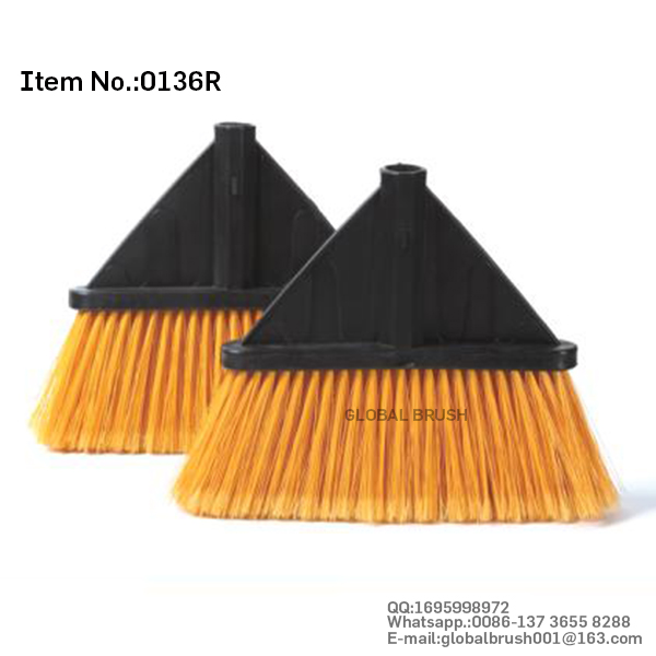 HQ0136R household plastic floor cleaning broom brush head for one dollar USA store