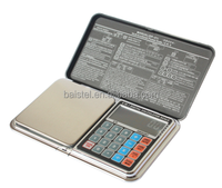 electronic digital scale Mini Pocket Jewelry Weighing Scale with white backlight pricing scale