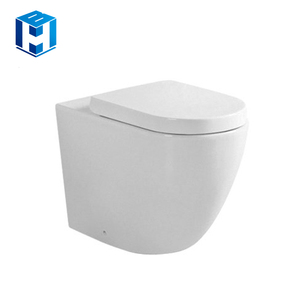 Bathroom Ceramic Western Type Flush Wall Hung Toilet Nice Design
