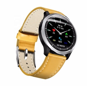 IOS And Android Compatible Waterproof Blood Pressure Heart Rate ECG Smart Watch