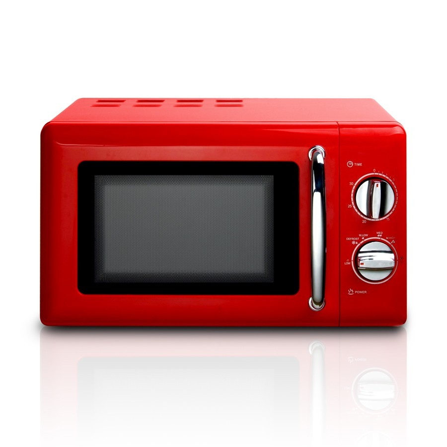 Microwave Ovens for Retro Kitchen, Smart Oven 800W, home style microwave oven