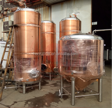 New Condition Small Size Red Copper Fermentation Tank Equipment for Beer Brewing in Pub