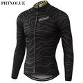 Phtxolue Winter Thermal Fleece Cycling Jersey Warm 2016 Pro Mtb Long Sleeve Men Bike Wear Clothing