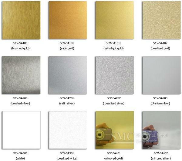 Aluminium Sheet PrintSublimation Aluminum Thickness 045mm 065mm Color White