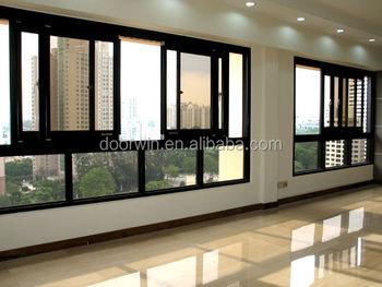 Aluminium Frame Office Sliding Glass Window Designs - Buy Sliding ...