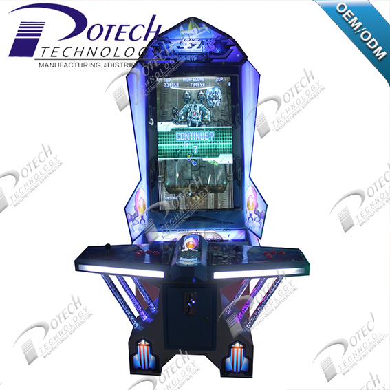 Arcade Video Game Machine Vertical Screen Arcade Target Flight Shooting Game Machine