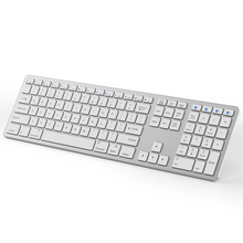 Oem Slim mejor Multi dispositivo 108 teclas Teclado estándar magia Bluetooth teclado de ordenador para imac mac windows apple