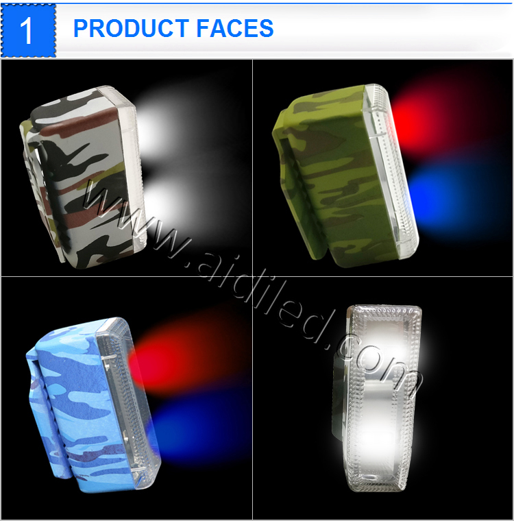 Latest New Item No Battery Led Running Light for Night Runner Environmental Running Light