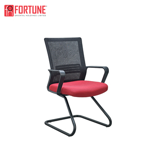 Ergonomic designed best red computer desk chair without wheels for sale