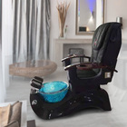 Atmospheric pedicure chair with automatic surfing and magnetic jet for hot sale