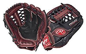 Rawlings Revo 750 Baseball Infield Pitcher (Burgandy/Black, Left Hand Throw, 11 1/2-Inch)