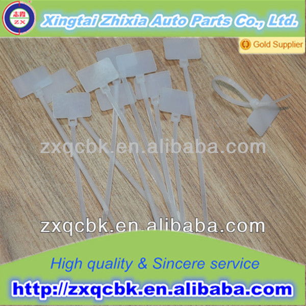 flexible cable ties For Car, Bike and other electrical equipment: Nylon 66