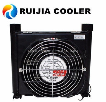 Hydraulic oil coolers air cooled types heat exchanger small black radiator