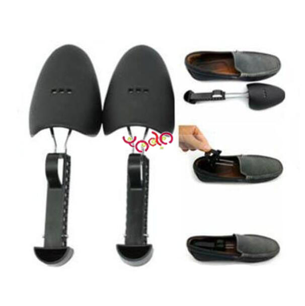 Men Practical Green Plastic Shoe Tree Shoe Stretcher Wholesale