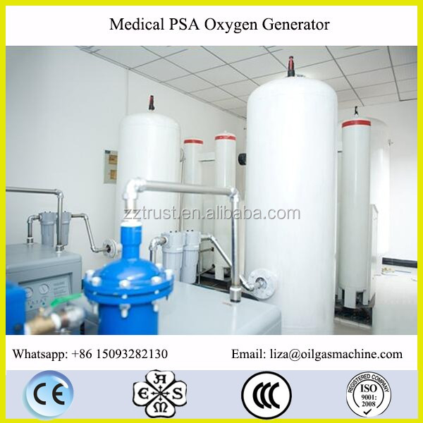 TRUST-100 93% Oxygen Gas Purity Medical Oxygen For Hospital Oxygen Plant