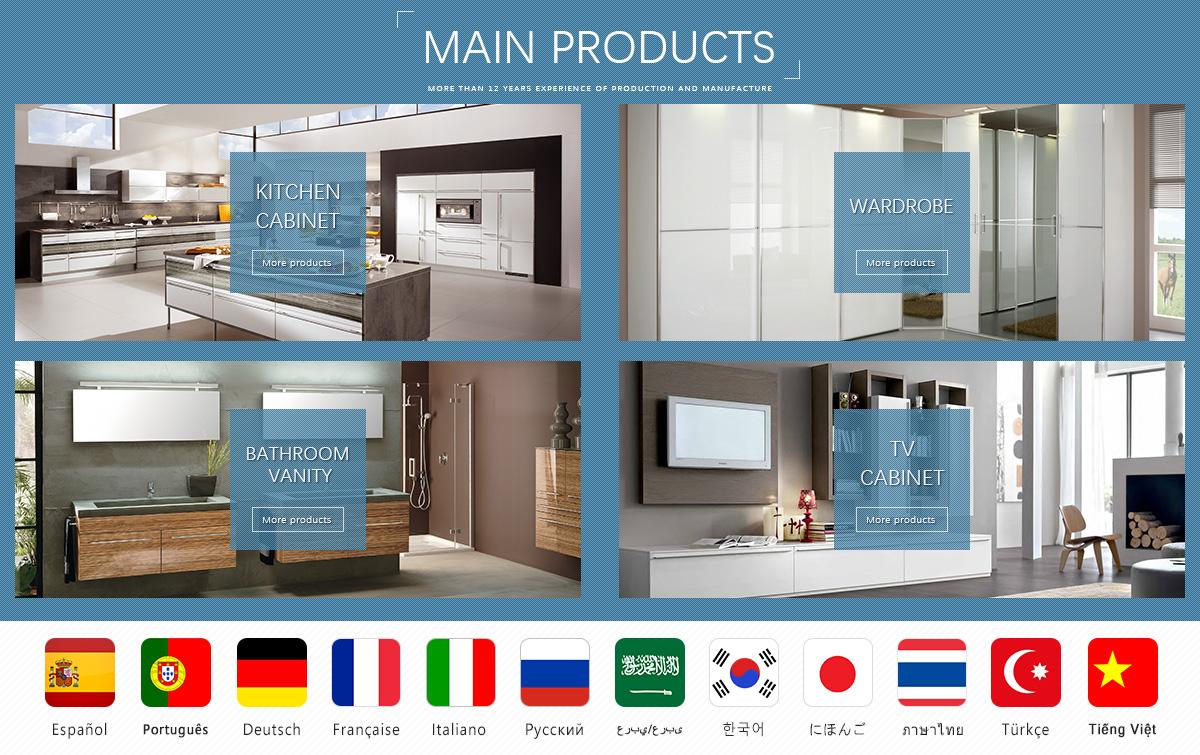 Guangzhou Enrich Building Materials Co., Ltd. - Kitchen Cabinet ...