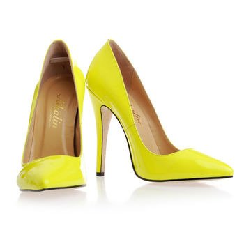 Buy Yellow Heels | Tsaa Heel