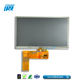 800x480 resolution 40 pins 7 inch lcd advertising player with RTP