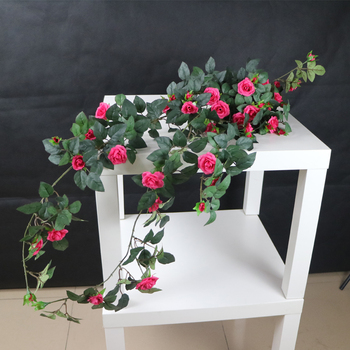 Competititve factory sale hanging artificial silk plastic rose competititve factory sale hanging artificial silk plastic rose flowers mightylinksfo