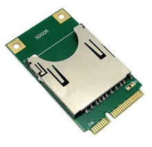 Mini PCI-E Express to SD SDHC MMC Memory Card Converter Reader
