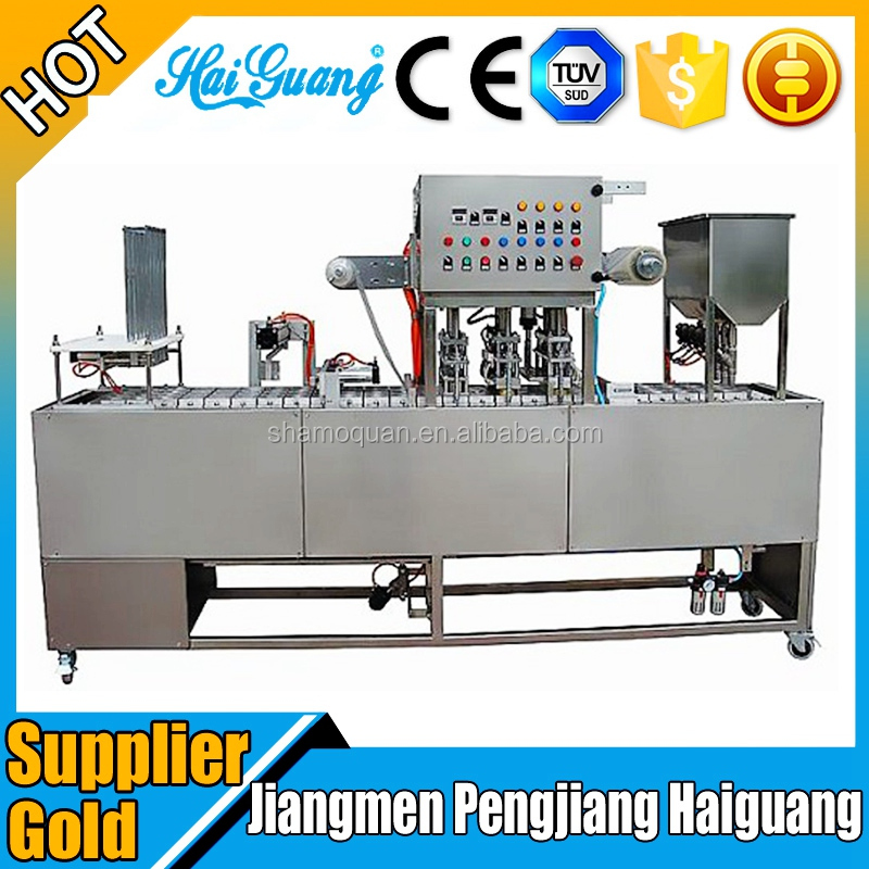 China Factory Water K Cup Filling Machine/Plastic Cup Making Machine Supplier