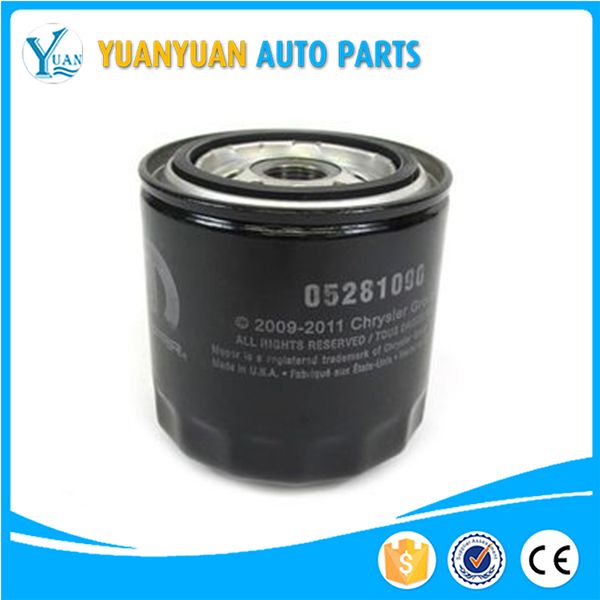 5281090AB 5013780AA 5281090 3555556313 oil filter for Dodge Charger Chrysler 300C Jeep Wrangler TJ Jeep Grand Cherokee WJ WG ZJ