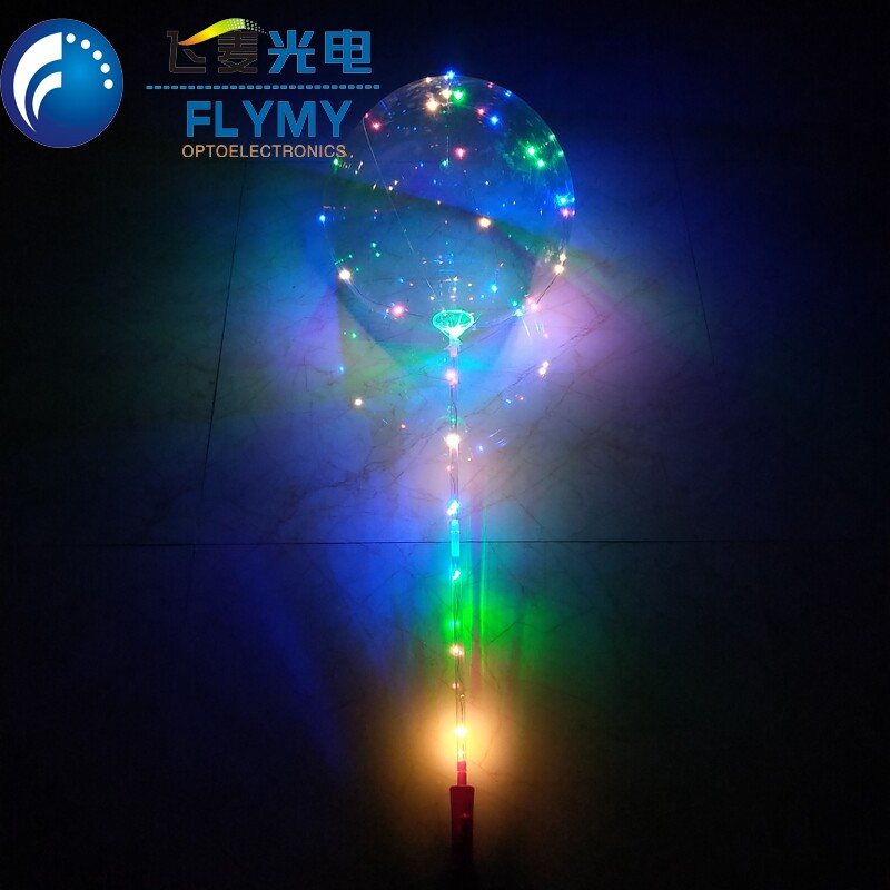 Hot selling Transparent PVC bubble bobo balloon stick for Christmas and party