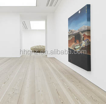 French Oak White Wash Brushed With Oil Prefinished Wooden Flooring