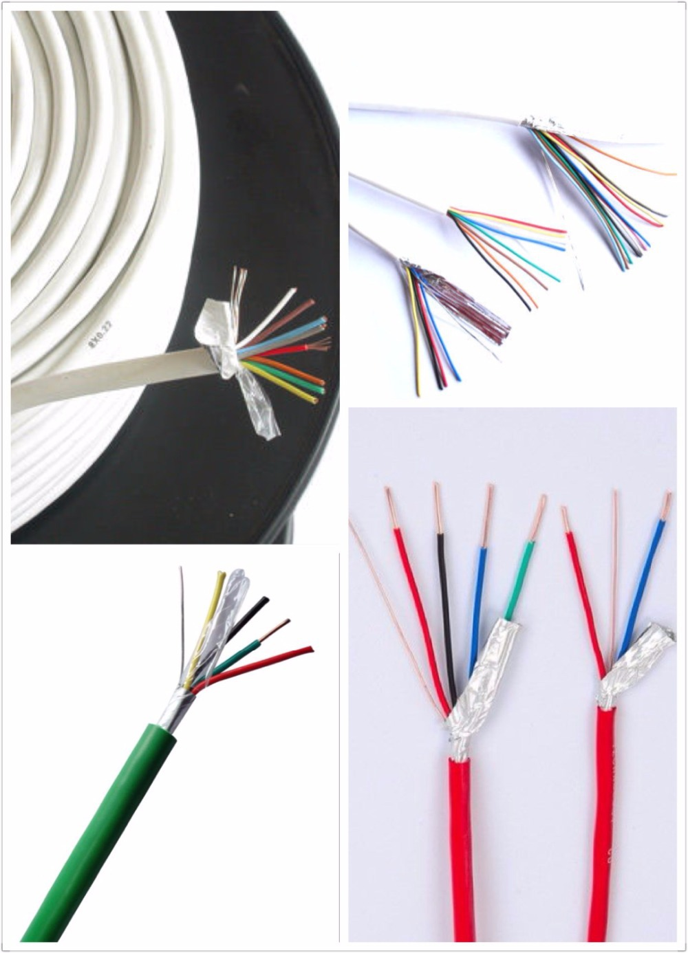Chinese Supplier Low Price Good Quality 6 Core Alarm Cables