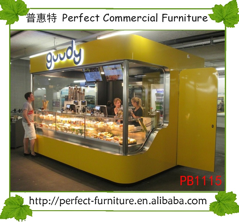 Mini Donuts Paradise Attractive Indoor Food Kiosk With