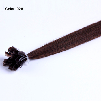 Full cuticle 0.8~1g/stand nail tip indonesia human hair