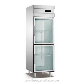 2018 New Glass Door Upright Commercial Freezer