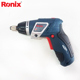 Ronix 3.6V Mini Cordless Screwdriver with 117 Drill Bits Set model 8536