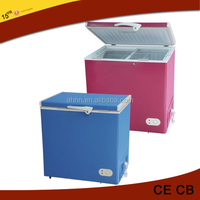 205 Liter cheap and good quality deep ice cream freezer