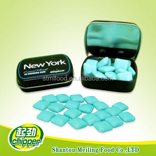 27g OEM sugar free energy chewing gum for promotion