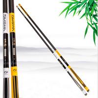 Tri-Poseidon Good Quality 4.5m Bamboo Carbon Material 8 Segments Hand Fishing Rods Carp Fishing Pole Fishing Tools