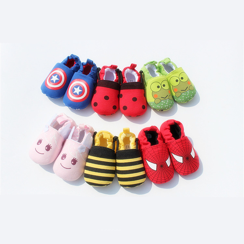 Cute Novelty Newborn Baby Boys Infant Shoes Winter Soft Cotton Baby First Walker Baby Shoes Boy Toddler Keep Warm Thick shoes