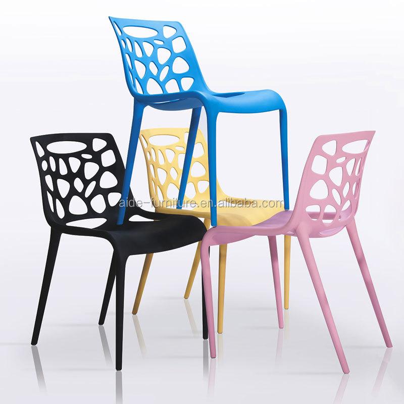 Nordic kitchen stackable colour rest chair for sale