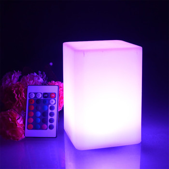 led light for home decoration nightclub wireless dining rechargeable cordless restaurant led table lamp lighting