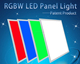 Wifi LED Panel Light 600x600 48W RGBW LED Panel Light Modern Ceiling Light Works with Alexa
